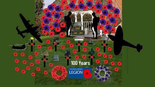 RBL 100th anniversary Huntingdon & Godmanchester 100th Birthday