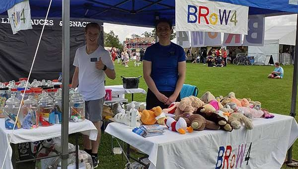 BRoW4 stall at Huntingdon Carnival 2021